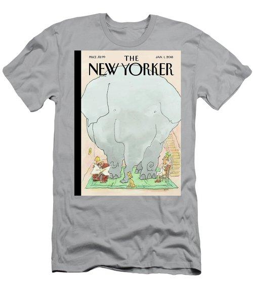 Cramped Men's T-Shirt (Athletic Fit)