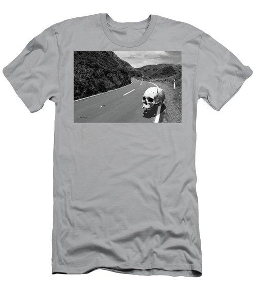 Men's T-Shirt (Athletic Fit) featuring the photograph Cranium Volito In Black by Joseph Westrupp