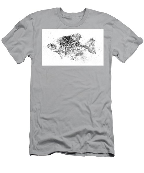 Crappie Abstract Men's T-Shirt (Athletic Fit)