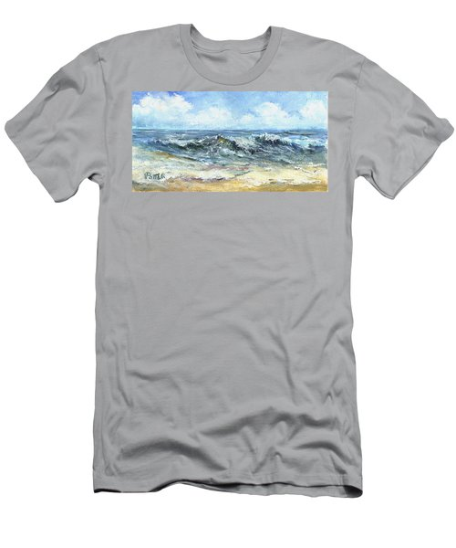 Crashing Waves In Florida  Men's T-Shirt (Athletic Fit)
