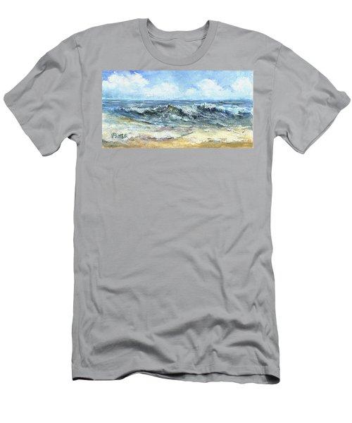 Crashing Waves In Florida  Men's T-Shirt (Athletic Fit)