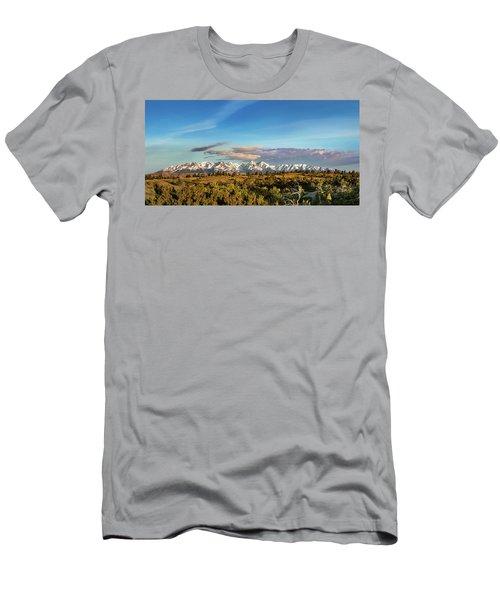 Crazy Mountains Men's T-Shirt (Athletic Fit)