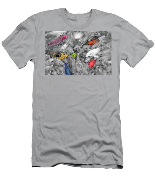 Create Your Own Happiness And Break Free Of The Grey Men's T-Shirt (Athletic Fit)