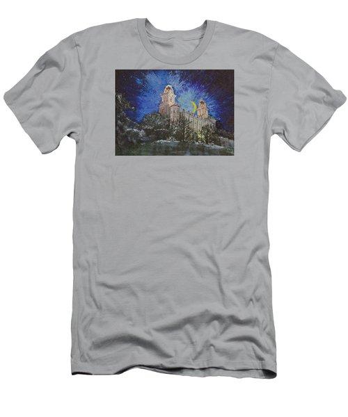 Crescent Moon Men's T-Shirt (Athletic Fit)