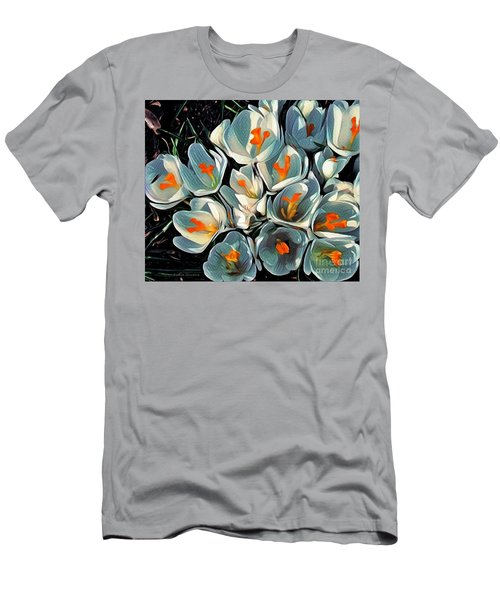 Crocus In The Shadows Men's T-Shirt (Athletic Fit)