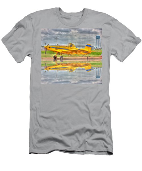 Crop Duster 002 Men's T-Shirt (Athletic Fit)