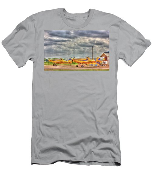 Crop Duster 003 Men's T-Shirt (Athletic Fit)