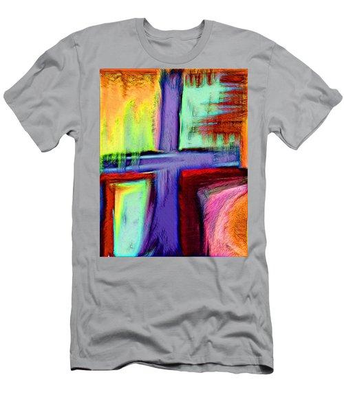 Cross Of Hope Men's T-Shirt (Athletic Fit)