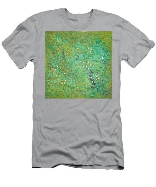 Cruciferous Flower Men's T-Shirt (Athletic Fit)