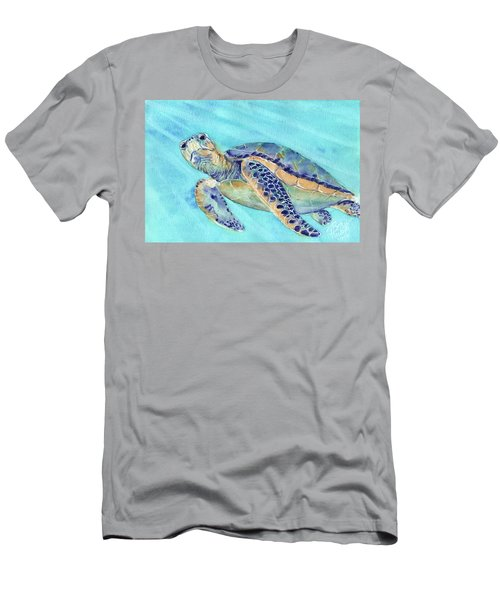 Men's T-Shirt (Athletic Fit) featuring the painting Crush by Betsy Hackett
