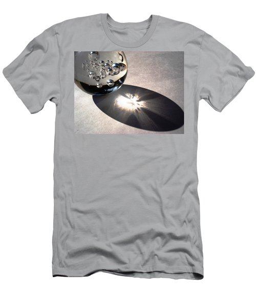 Crystal Ball With Trapped Air Bubbles Men's T-Shirt (Slim Fit) by Sumit Mehndiratta