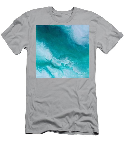 Crystal Wave14 Men's T-Shirt (Athletic Fit)