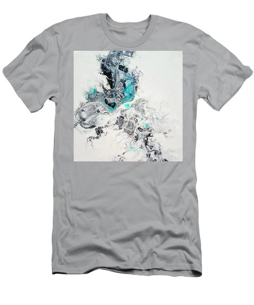 Crystals Of Ice Men's T-Shirt (Athletic Fit)