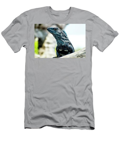 Men's T-Shirt (Athletic Fit) featuring the photograph Ctenosaura by David Morefield