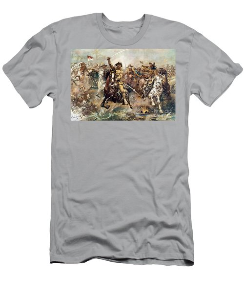 Cuba: Rough Riders, 1898 Men's T-Shirt (Athletic Fit)