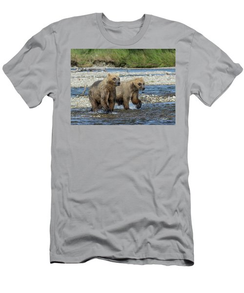 Cubs On The Prowl Men's T-Shirt (Athletic Fit)
