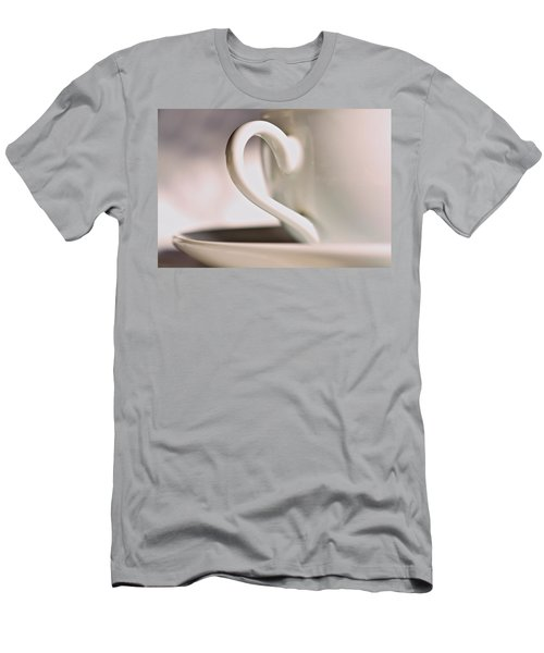 Cup And Saucer Men's T-Shirt (Athletic Fit)