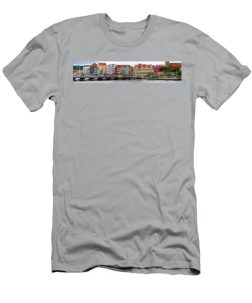 Curacao Willemstad Panorama Men's T-Shirt (Athletic Fit)