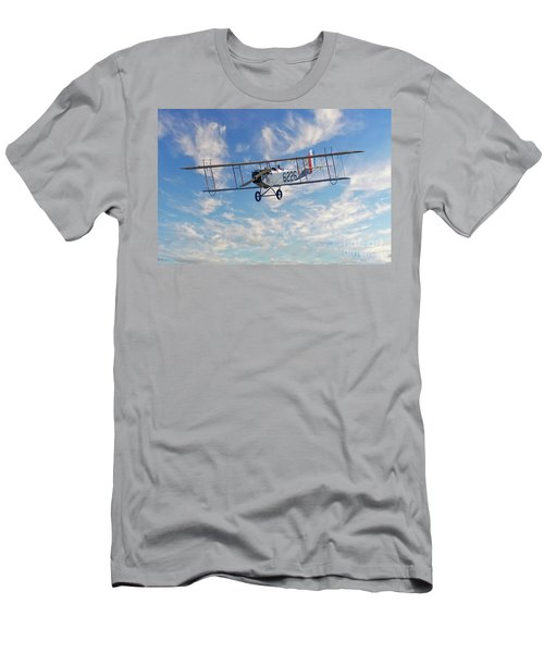 Curtiss Jn-4h Biplane Men's T-Shirt (Slim Fit) by Jerry Fornarotto