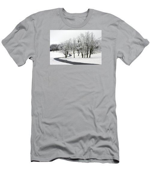 Mac Rae Field Curved Path Men's T-Shirt (Athletic Fit)