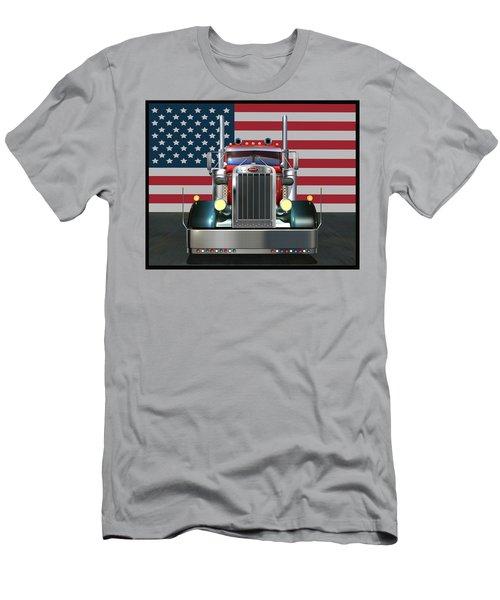 Custom Peterbilt 2 Men's T-Shirt (Athletic Fit)