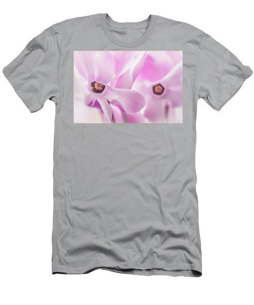 Cyclamen Hearts Men's T-Shirt (Athletic Fit)