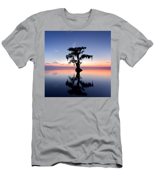 Men's T-Shirt (Slim Fit) featuring the photograph Cypress Tree by Evgeny Vasenev