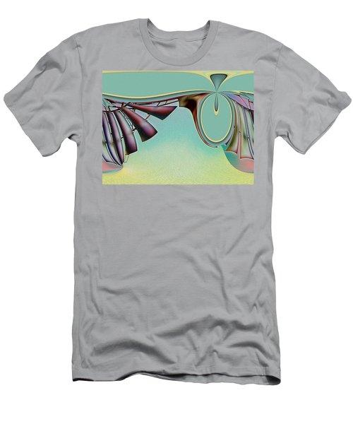Da Vinci's Nudge Men's T-Shirt (Slim Fit) by Wendy J St Christopher
