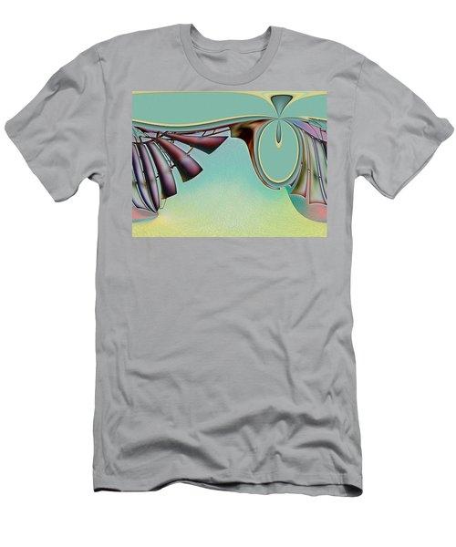 Da Vinci's Nudge Men's T-Shirt (Athletic Fit)