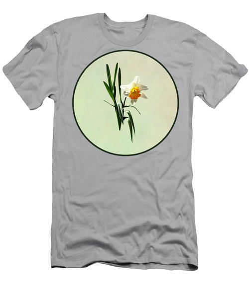 Daffodil Taking A Bow Men's T-Shirt (Athletic Fit)