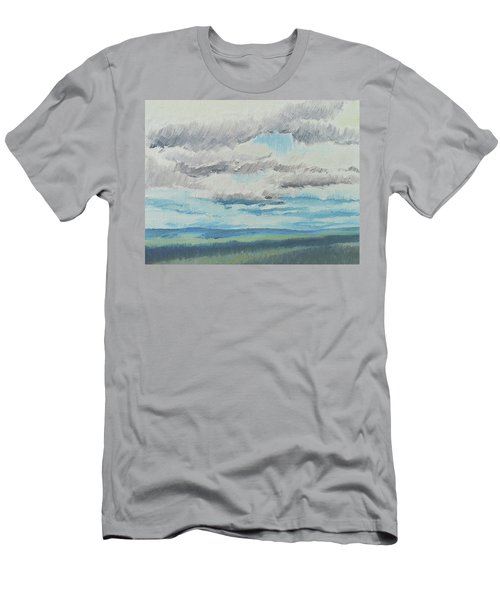 Dagrar Over Salenfjallen- Shifting Daylight Over Distant Horizon 8 Of 10_0029 Men's T-Shirt (Athletic Fit)