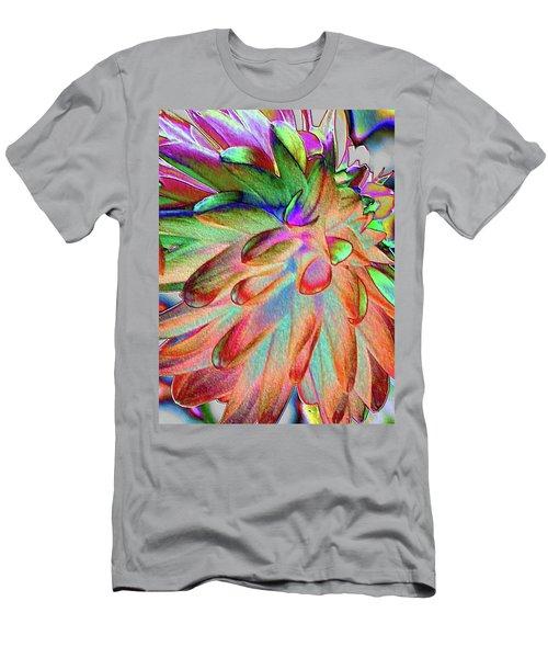 Dahlia Fantasy Men's T-Shirt (Athletic Fit)