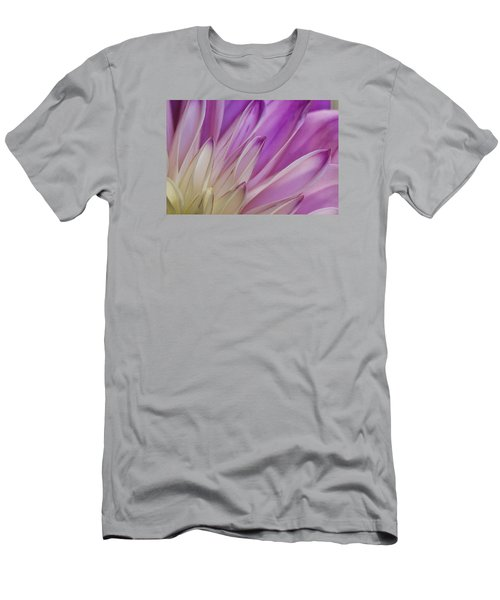 Dahlia Petals Men's T-Shirt (Athletic Fit)