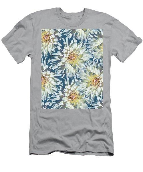 Dahlias 2 Men's T-Shirt (Athletic Fit)