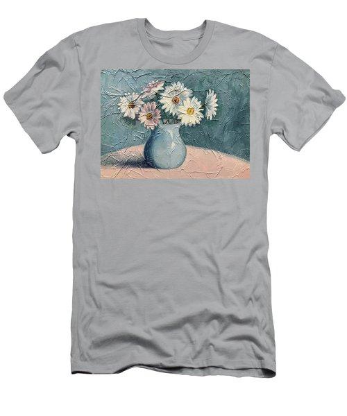 Daisies Men's T-Shirt (Slim Fit)