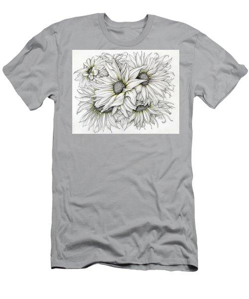Sunflowers Pencil Men's T-Shirt (Athletic Fit)