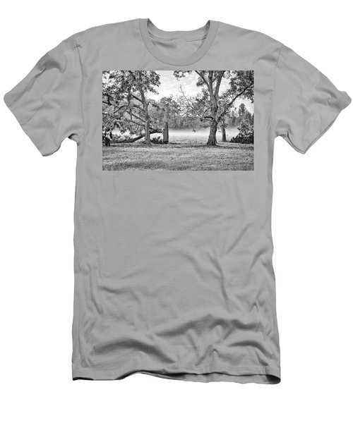 Dale - Foggy Morning Men's T-Shirt (Athletic Fit)