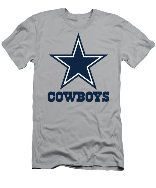 Dallas Cowboys Translucent Steel Men's T-Shirt (Athletic Fit)