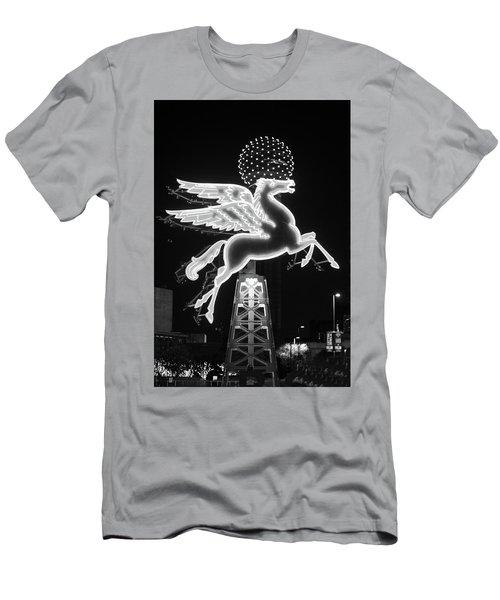 Dallas Pegasus Bw 121517 Men's T-Shirt (Athletic Fit)