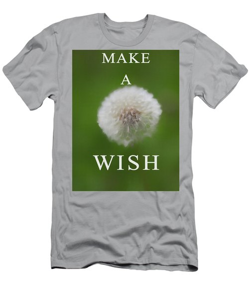 Dandelion Make A Wish Men's T-Shirt (Athletic Fit)