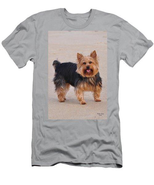 Dapper Dog Men's T-Shirt (Athletic Fit)