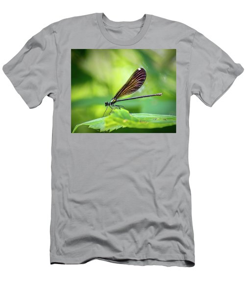 Men's T-Shirt (Slim Fit) featuring the photograph Dark Damsel by Bill Pevlor