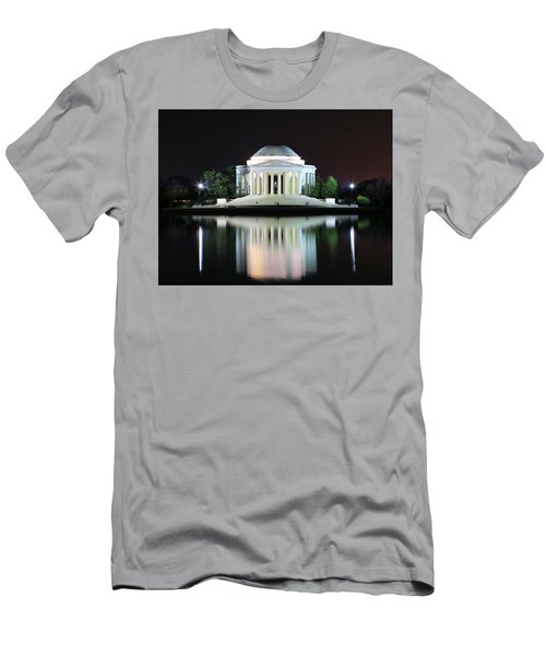 Darkness Over The Jefferson Memorial Men's T-Shirt (Athletic Fit)