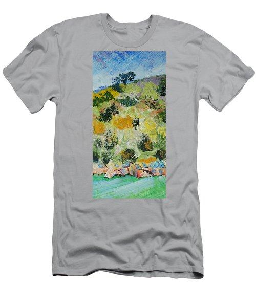 Dartmouth Cliffs Men's T-Shirt (Athletic Fit)