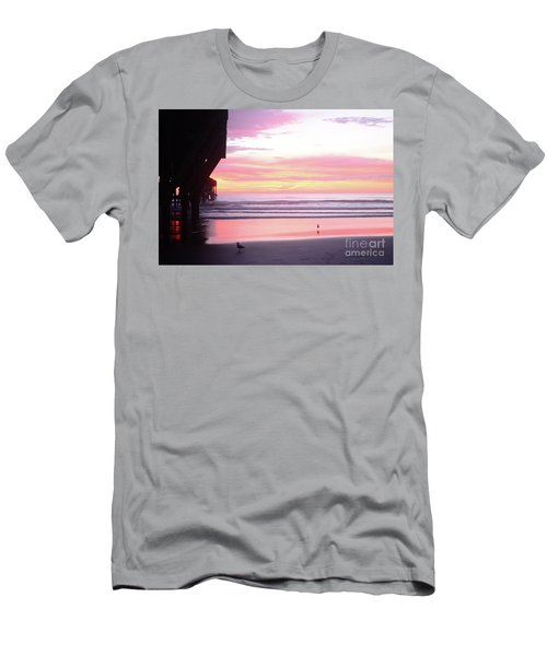 Dawn At The Beach 8-14-16 Men's T-Shirt (Athletic Fit)