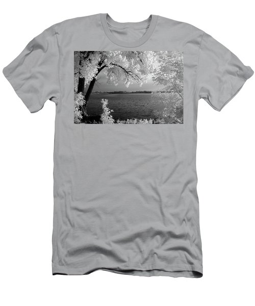 Day At The Lake Men's T-Shirt (Athletic Fit)