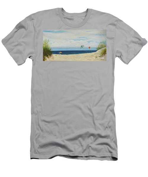 Day On Beach Men's T-Shirt (Athletic Fit)