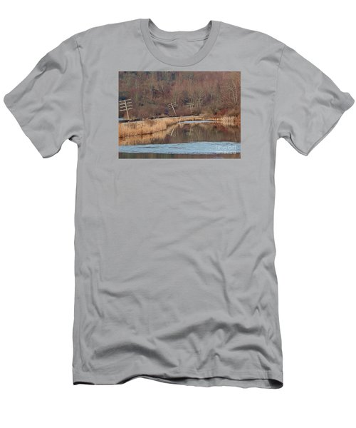Men's T-Shirt (Slim Fit) featuring the photograph Days Gone Bye by Christian Mattison