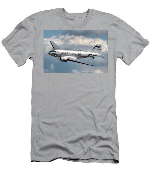 Dc-3 Men's T-Shirt (Slim Fit) by Jeff Cook