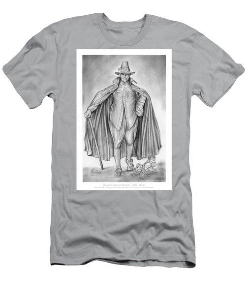 Deacon Samuel Chapin Men's T-Shirt (Athletic Fit)